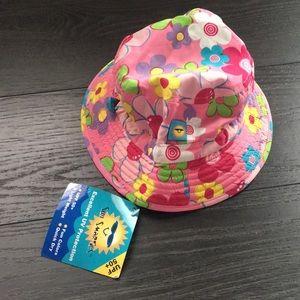 Toddler Girls Sun Smarties Hat